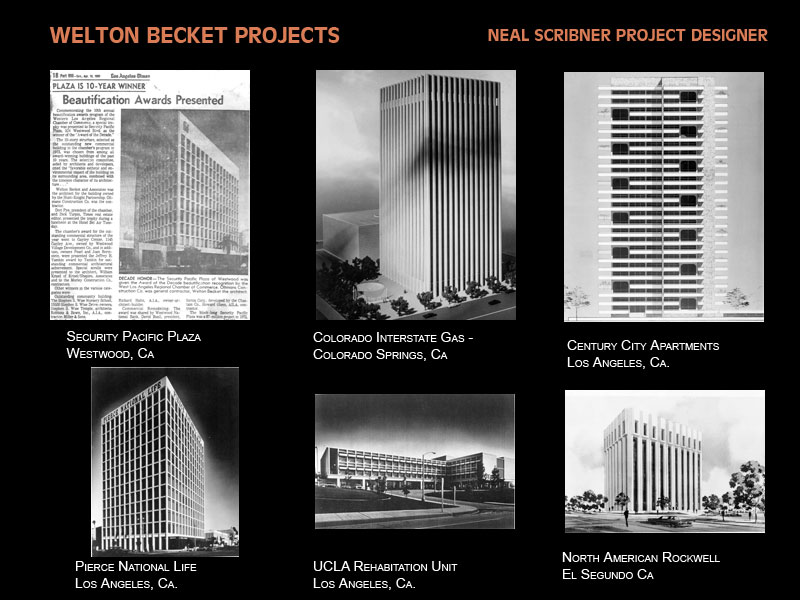 Welton Beckett Projects